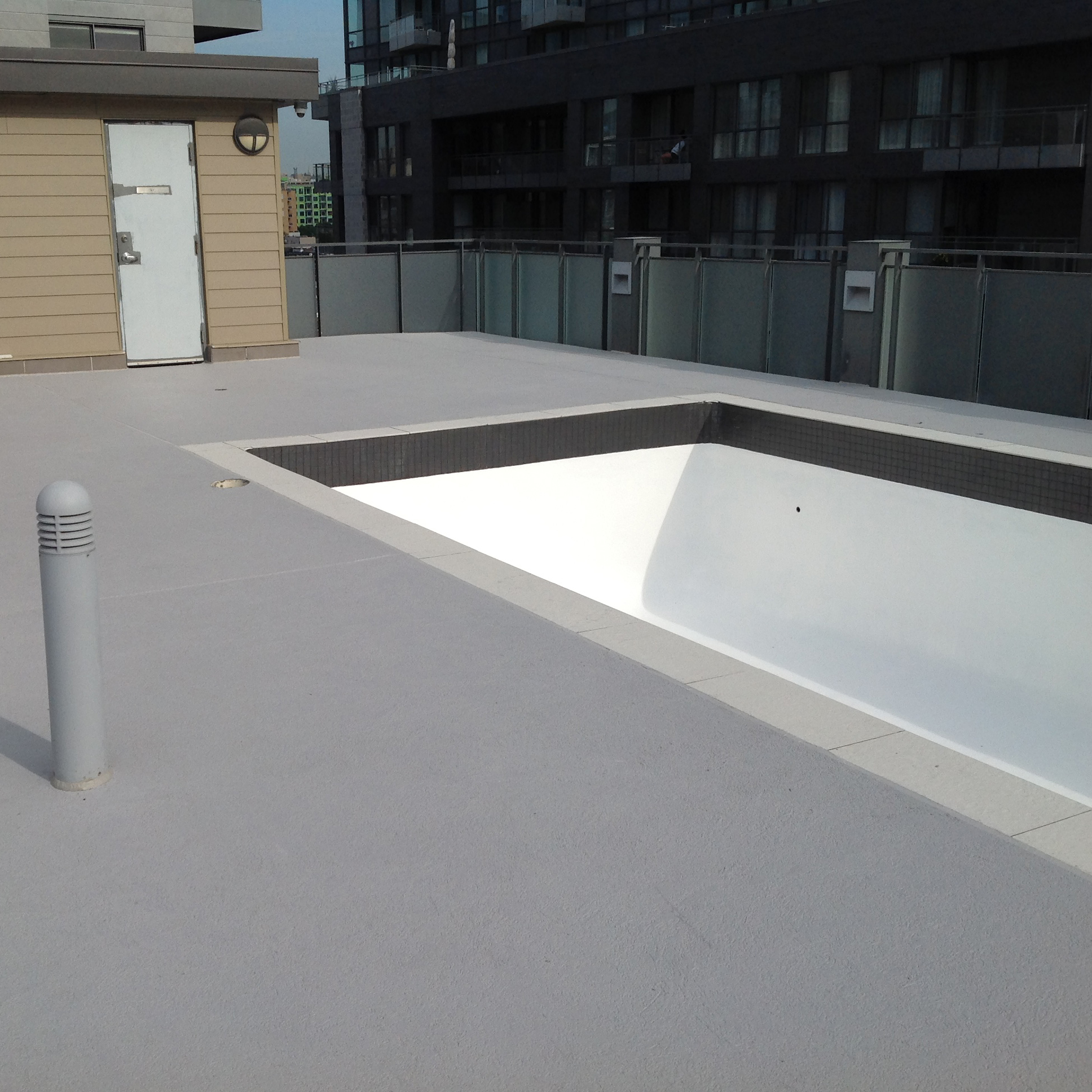 Revêtement piscine - Acrylique Béton plus