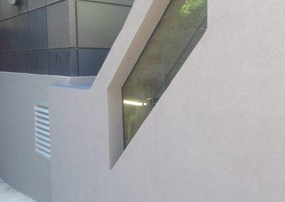 Projet commercial, installation de crépit