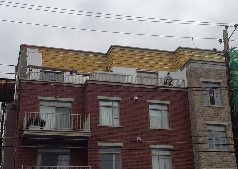 Résidentiel – Rénovation de murs extérieurs